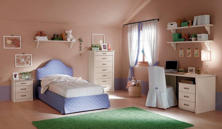 Progressi arredamenti arredamenti camerette for Camere da letto per ragazze ikea